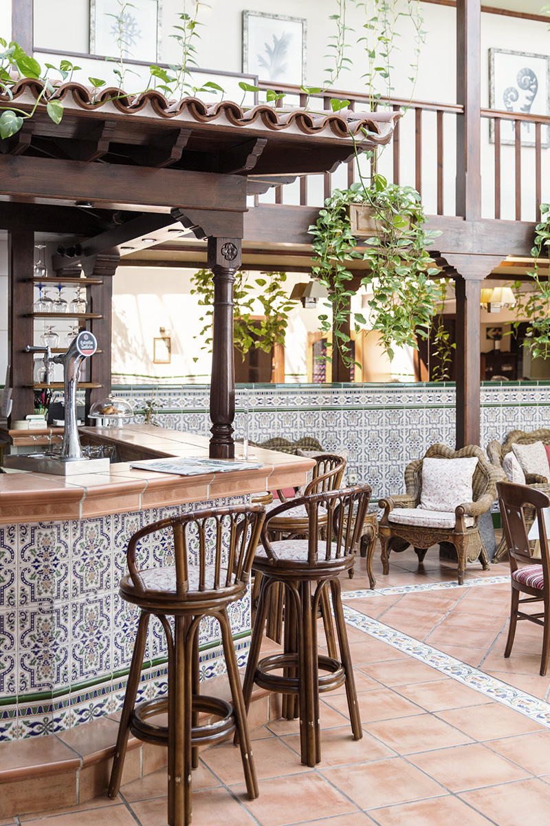 A courtyard restaurant in Gran Canaria in the Canary Islands by RebeccaStumpf.Food.Travel.Lifestyle.Denver.Boulder.Colorado.Photographer