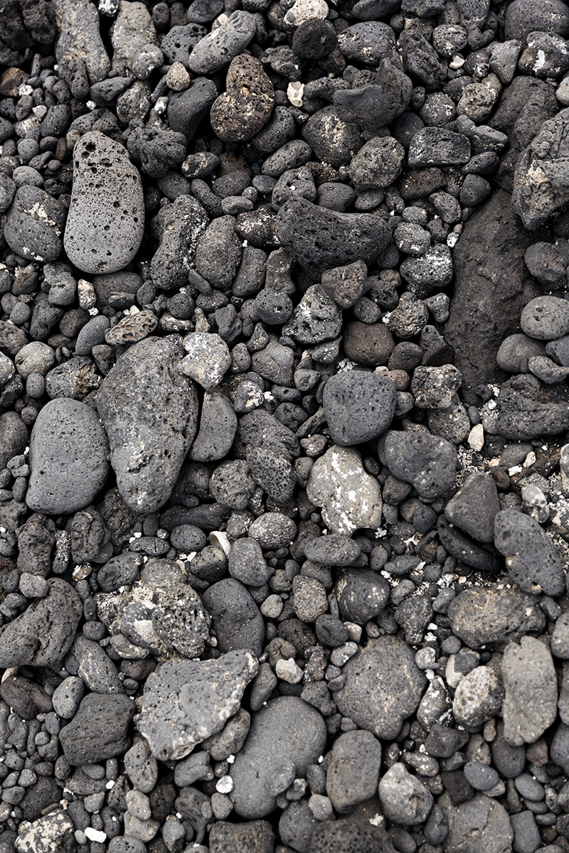 Details of black volcanic beach rocks in Lanzarote, Canary Islands by RebeccaStumpf.Food.Travel.Lifestyle.Denver.Boulder.Colorado.Photographer