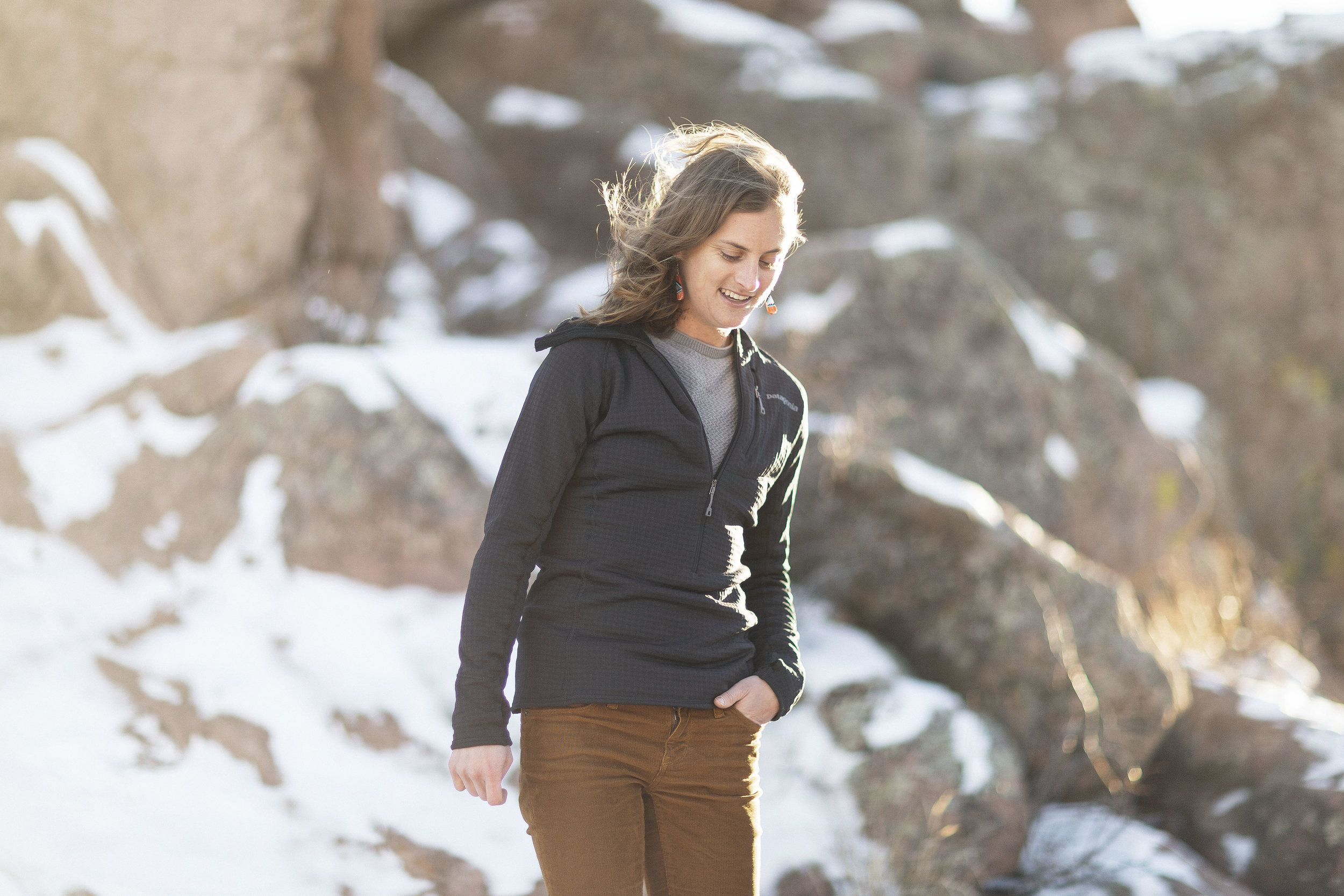 Ultra Runner Clare Gallagher photographed for 5280 Magazine in Boulder, Colorado.