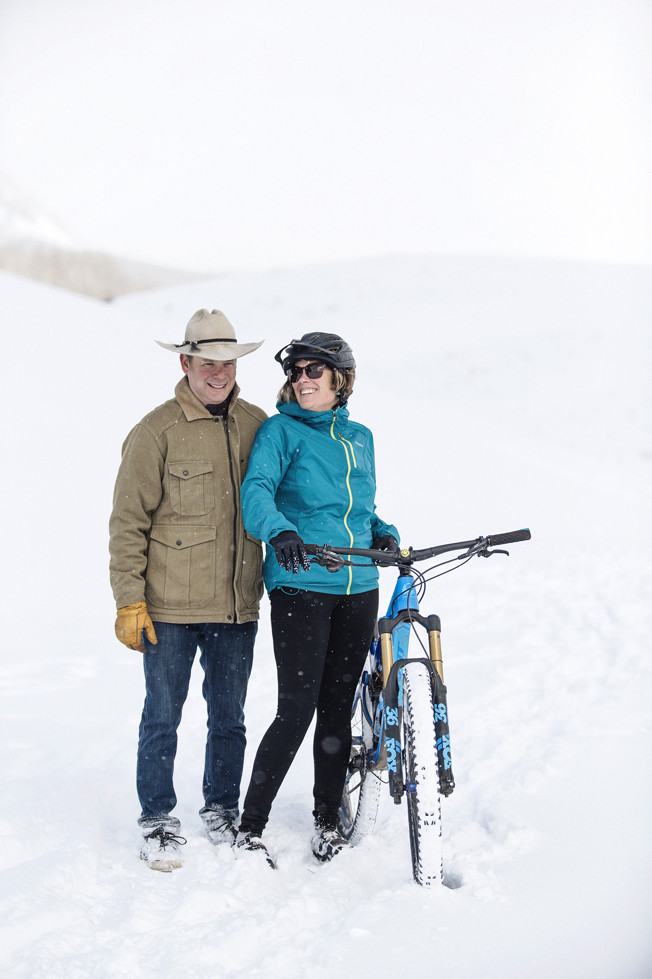 Fat biking in Crested Butte, Colorado photographed for Sunset Magazine. Colorado Editorial Photographer, Denver Editorial Photographer, Montana Editorial Photographer, Boulder Editorial Photographer.
