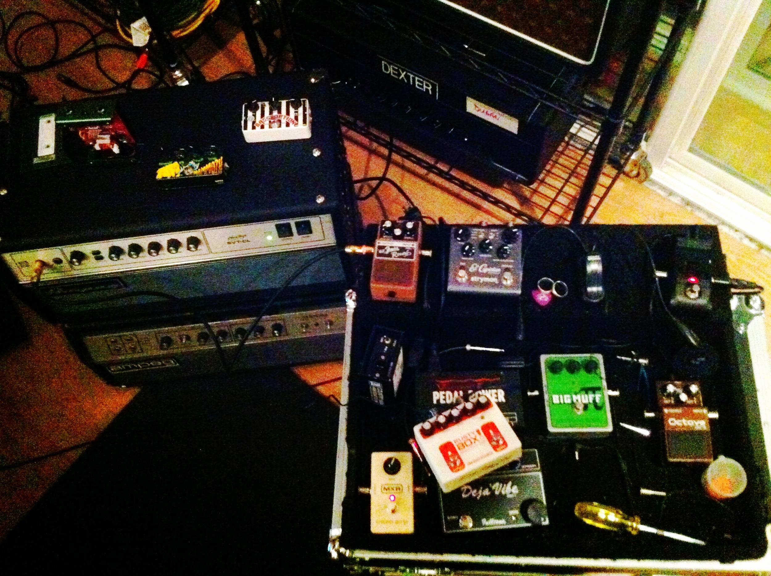 Noise toys.