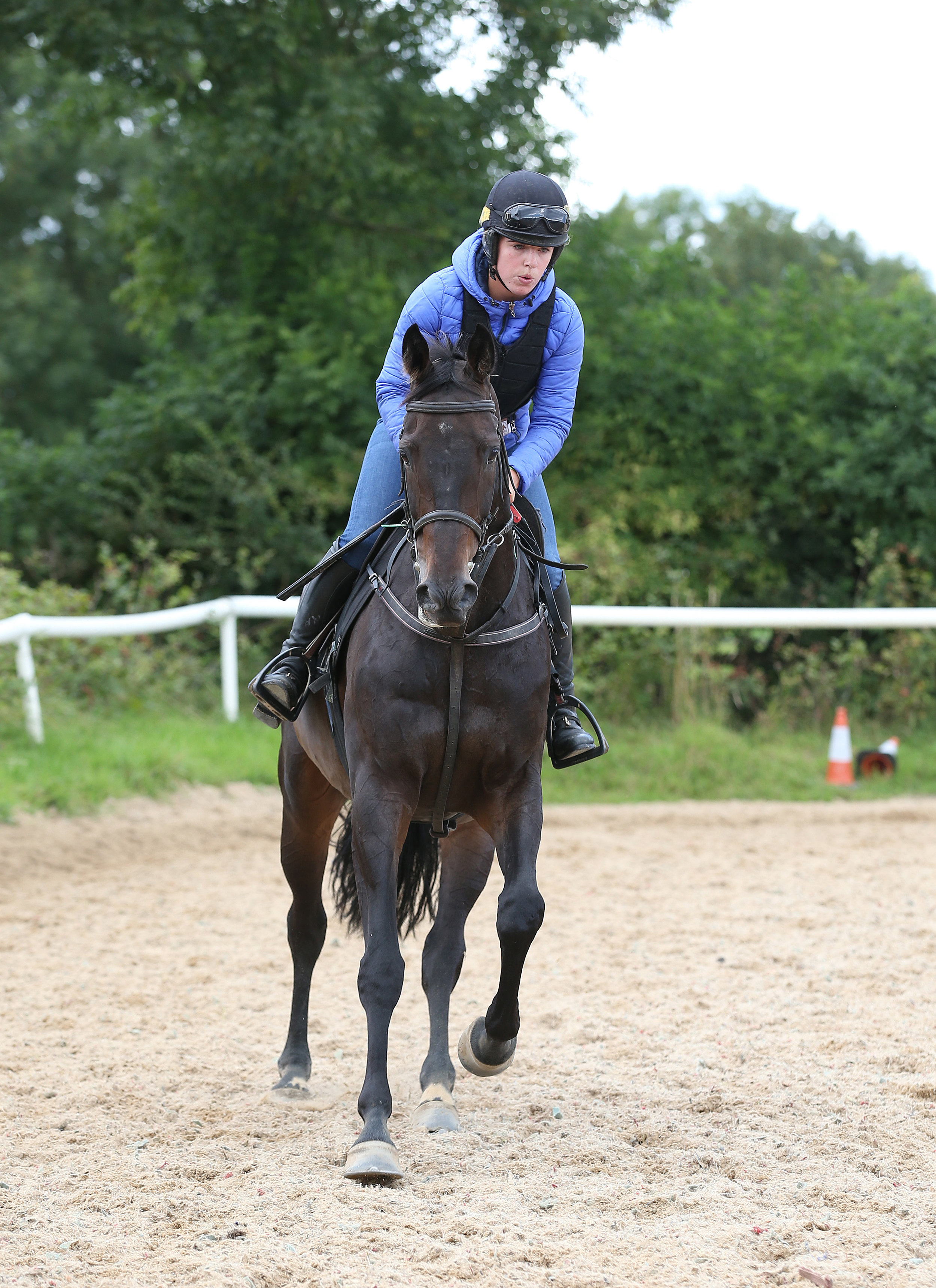 Sizing John and Jessica's daughter, Kate.