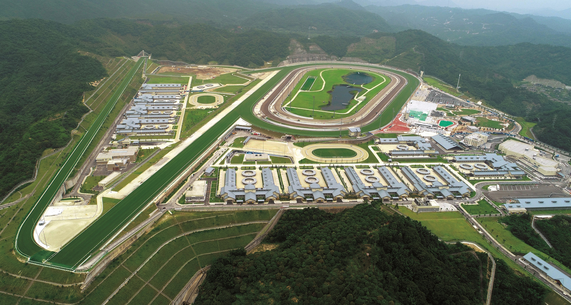 CRC will serve as a world-class facility for the training of Hong Kong's racehorses.