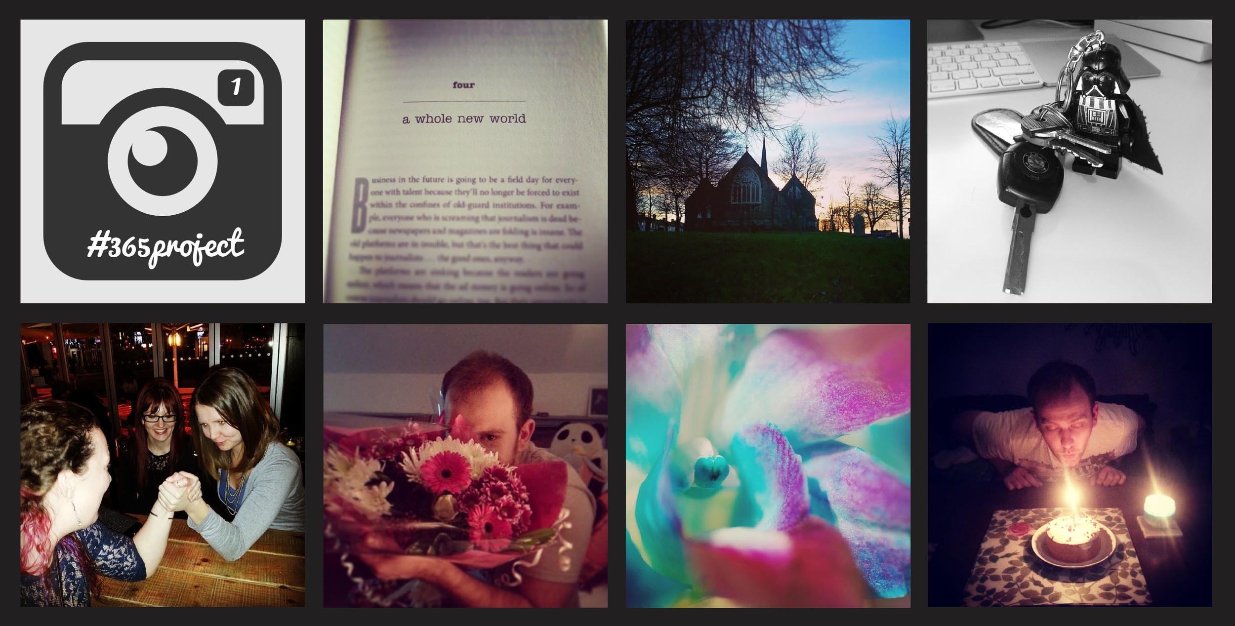 Week 1 of my 365 project on instagram  @nikkicooperx
