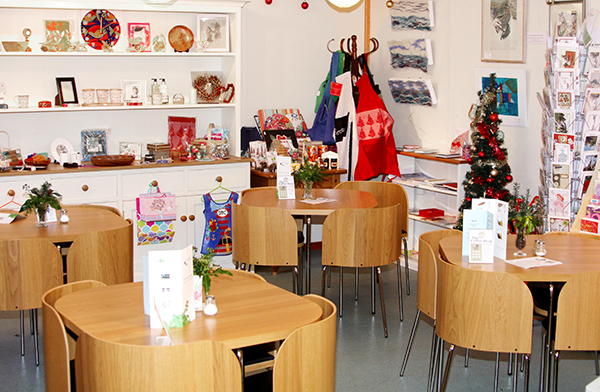 The Coffee Shop at Christmas 2013