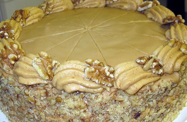 Home-made cake