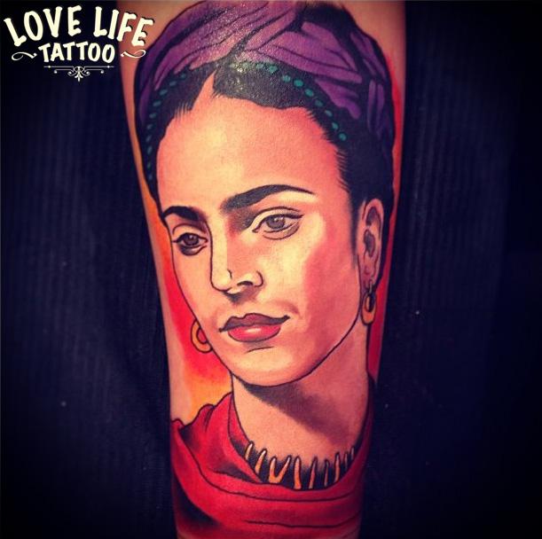 татуировка Фриды