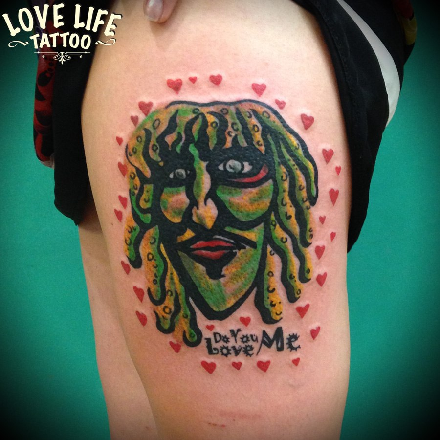татуировка старого Грэга