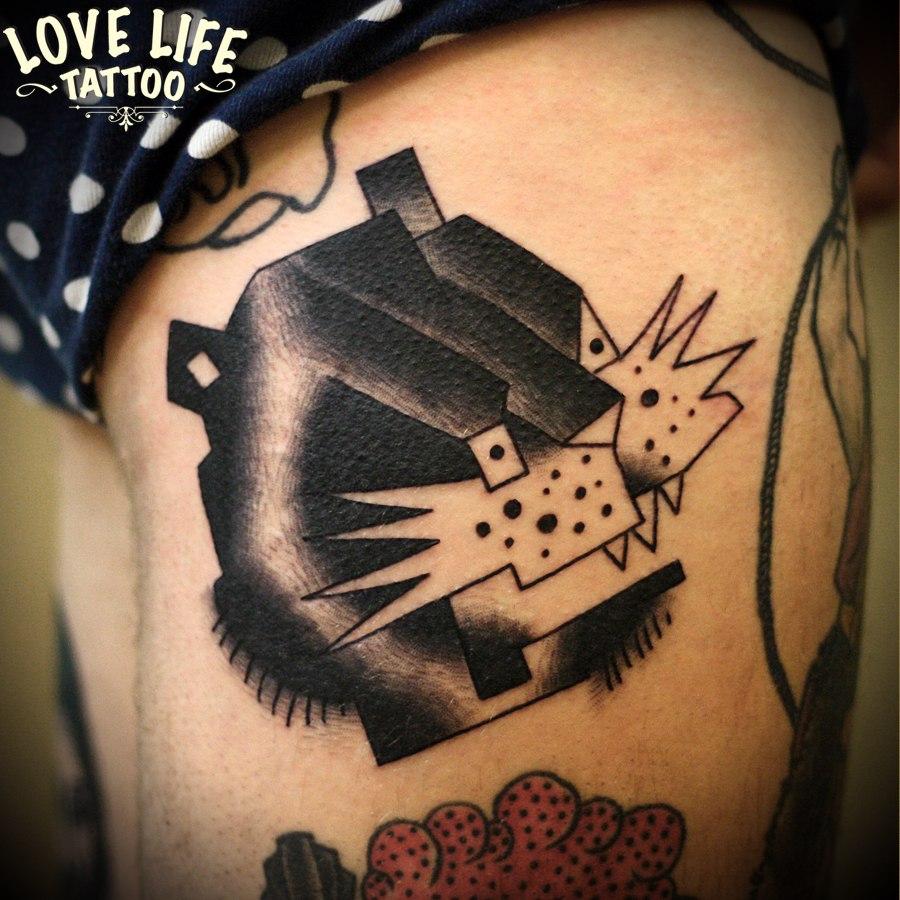 татуировка пантерры