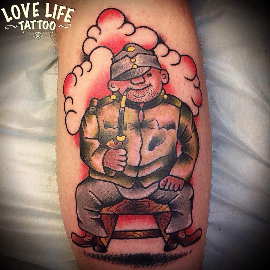 татуировка Швейка