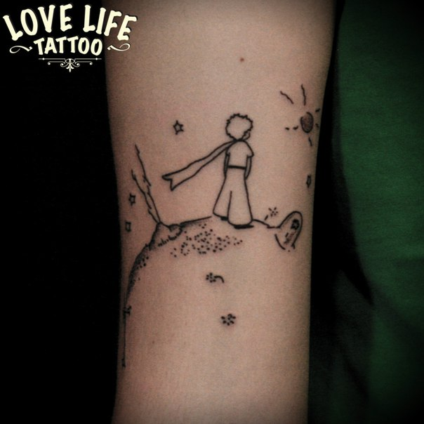 татуировка маленького принца