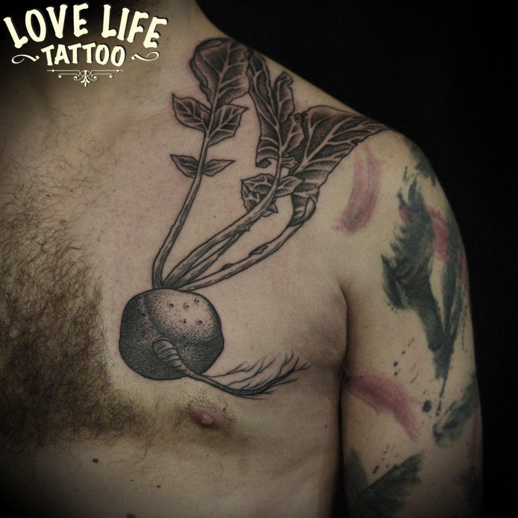 татуировка редиса