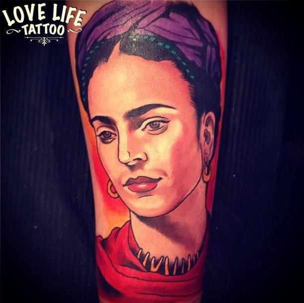 татуировка Фриды Кало