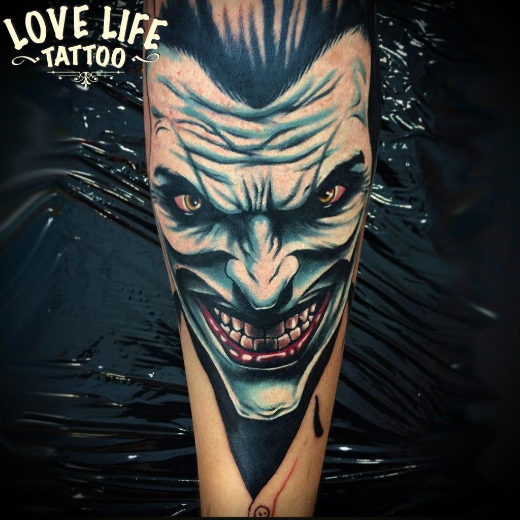 татуировка Джокера