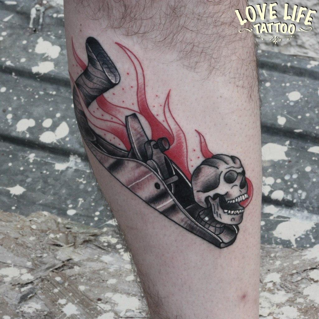 татуировка рубанка
