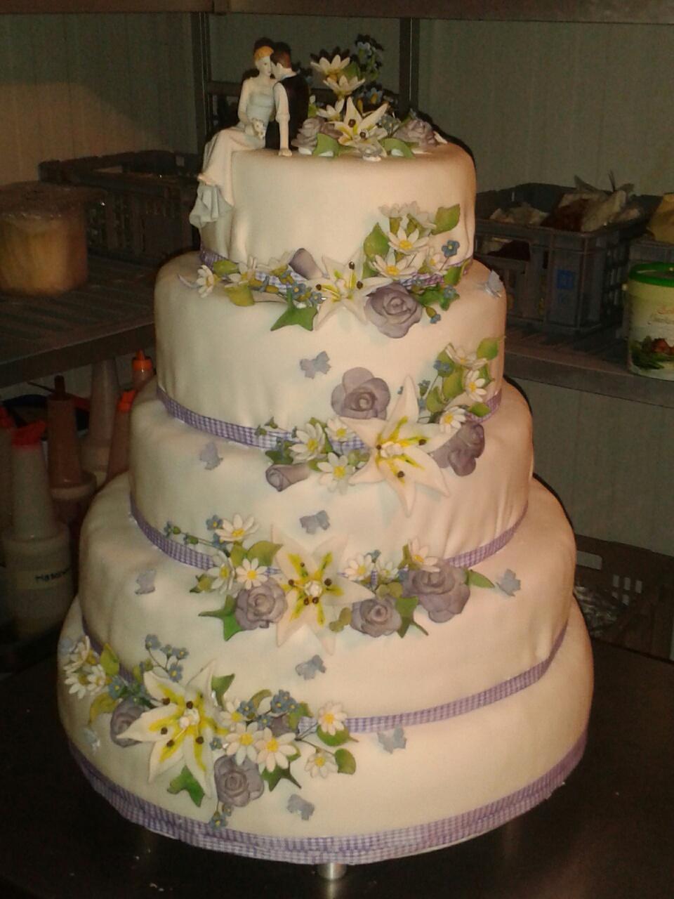 Die ganz spezielle Hochzeitstorte