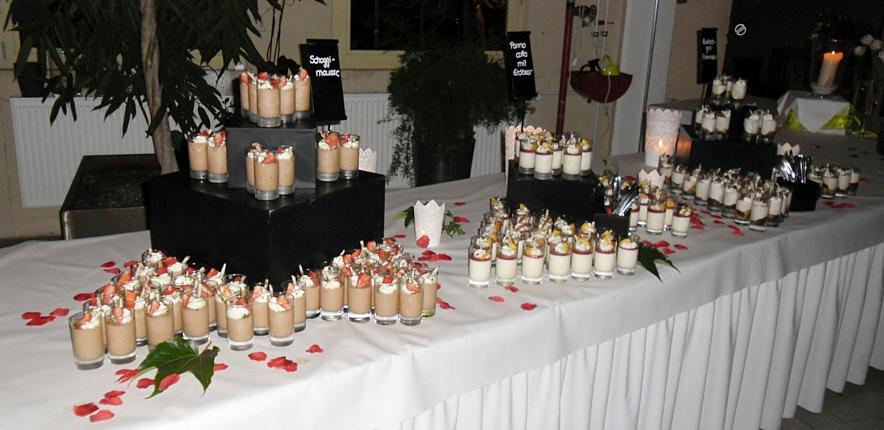 Hochzeitbuffet Catering Schmiedstube