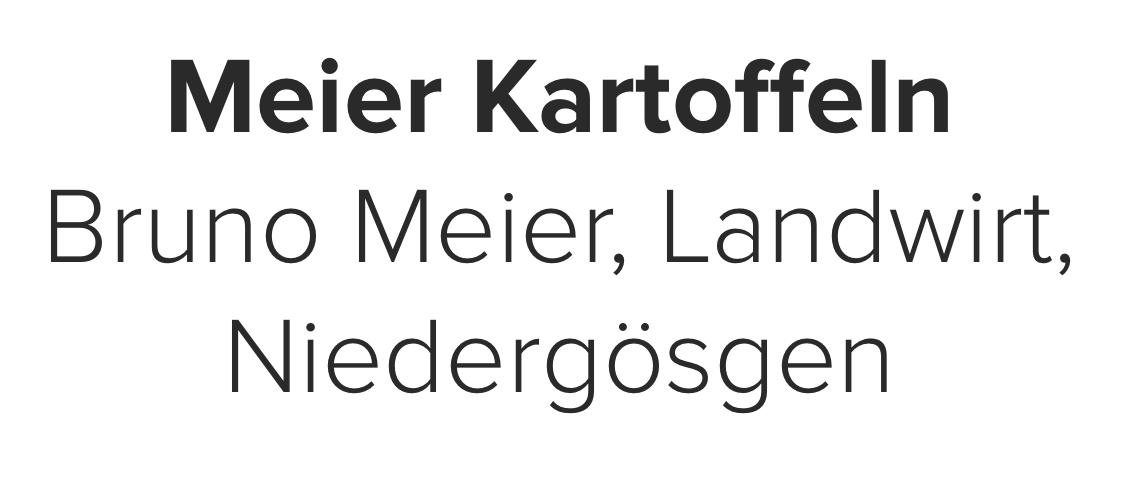 Meier Kartoffeln, Meier Bruno, Landwirt, Niedergösgen.png