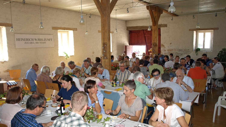 Alte Trotte Erlinsbach - Geeignet für: Hochzeitsapéros, Familienfeiern bis zu 60 Personen.> Gemeinde Erlinsbach