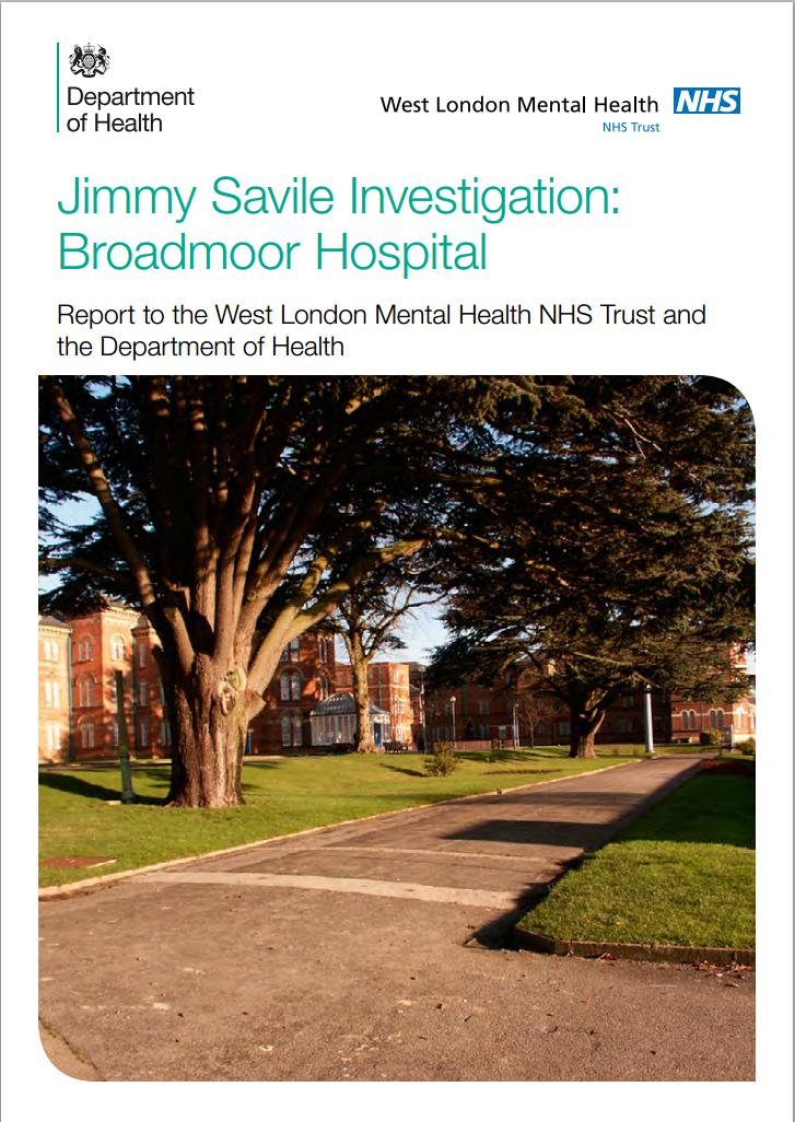 Jimmy Savile Investigation: Broadmoor Hospital