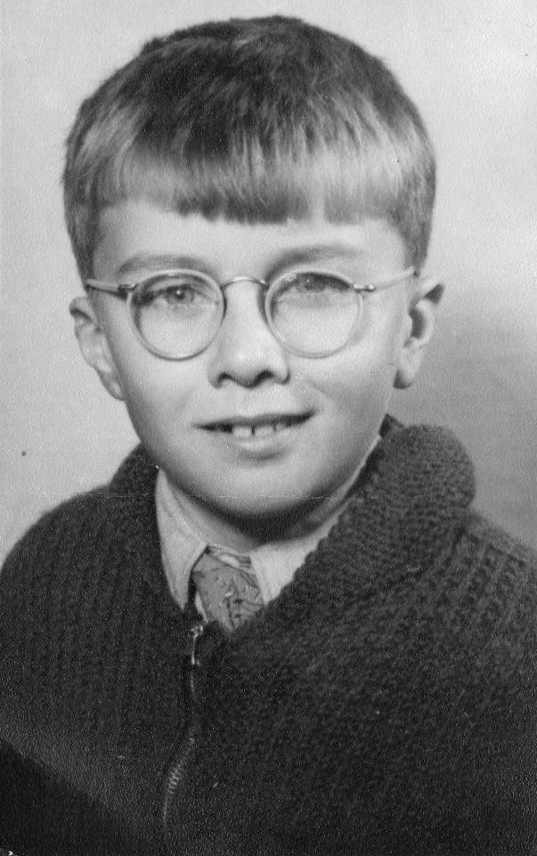 Les Turner at age 11