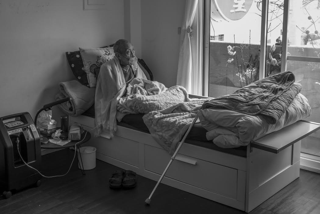 where Rinpoche continues his treatment