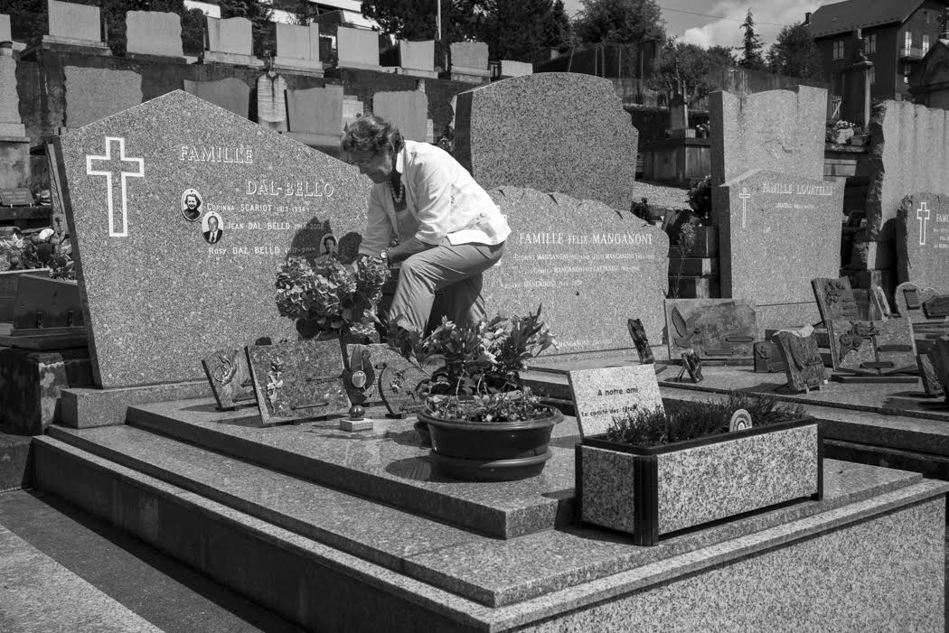 And then a visit to Savoie and to the grave of dear Corinna to whom I owe SO much!!!