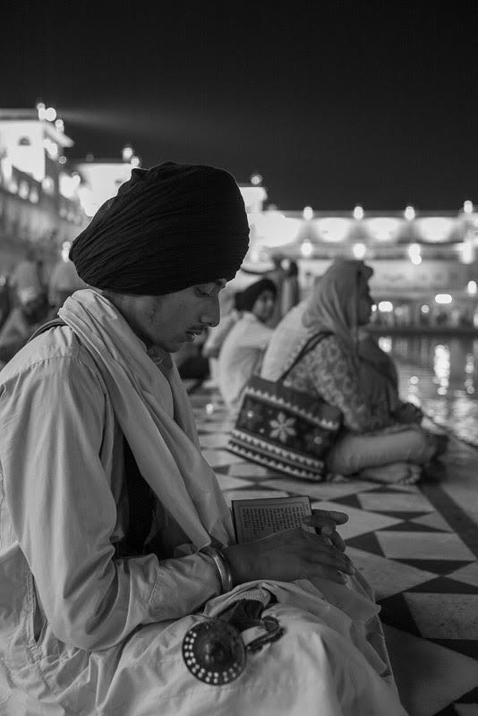as evening prayers are said