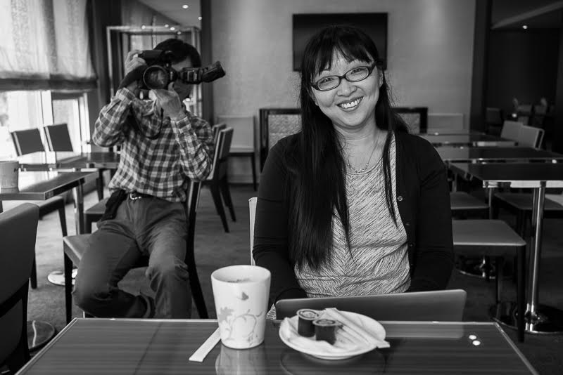 where I've been interviewed by the Taipei Times' Yuanting Yang and photographed by Chiaming Chang