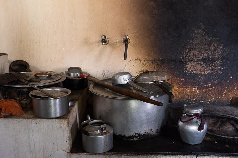 and pots need washing