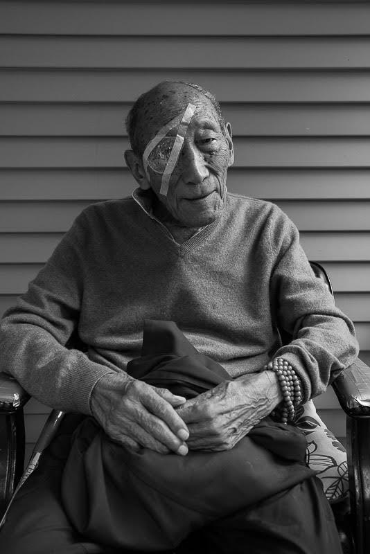 Rinpoche has undergone cataract surgery