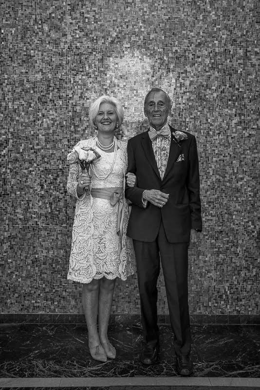 My father and Sandra tie the knot!