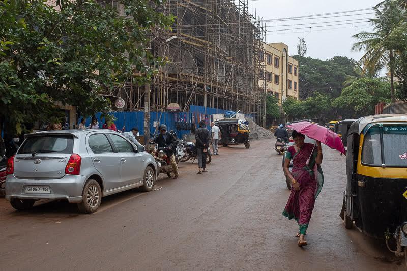 It's monsoon here