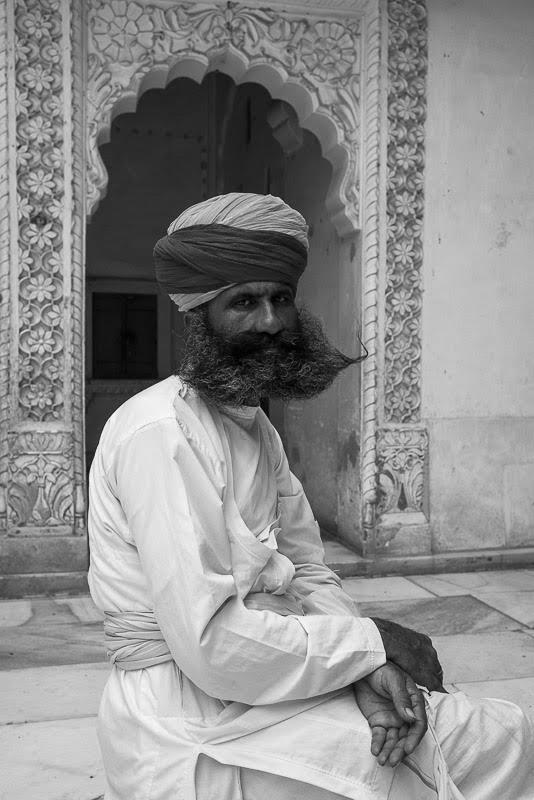 People in Jodhpur are modest