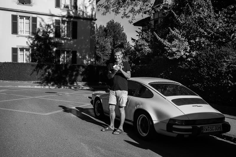 but soon on the road again… to Zurich and then porsched to Bern