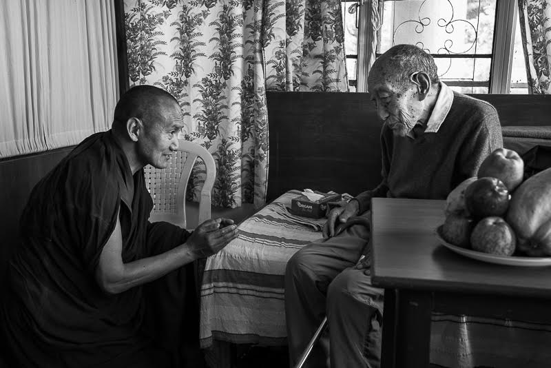 With Rinpoche