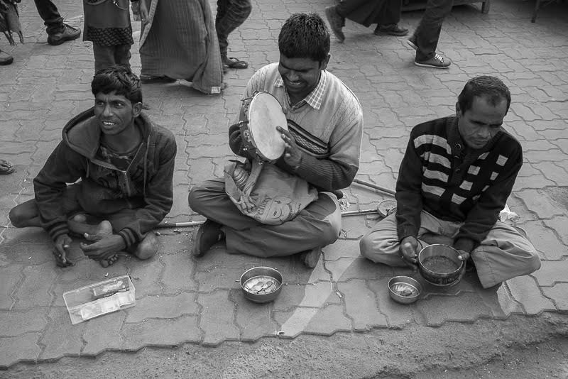 Many beggars needing our our support, just as we need the opportunity to be generous