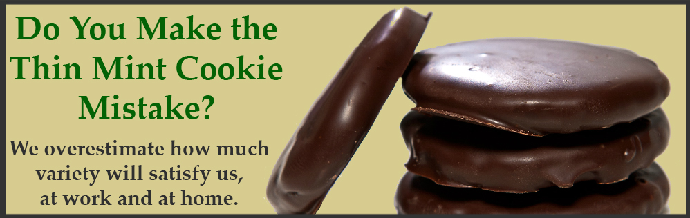 Do you make the thin mint cookie mistake?