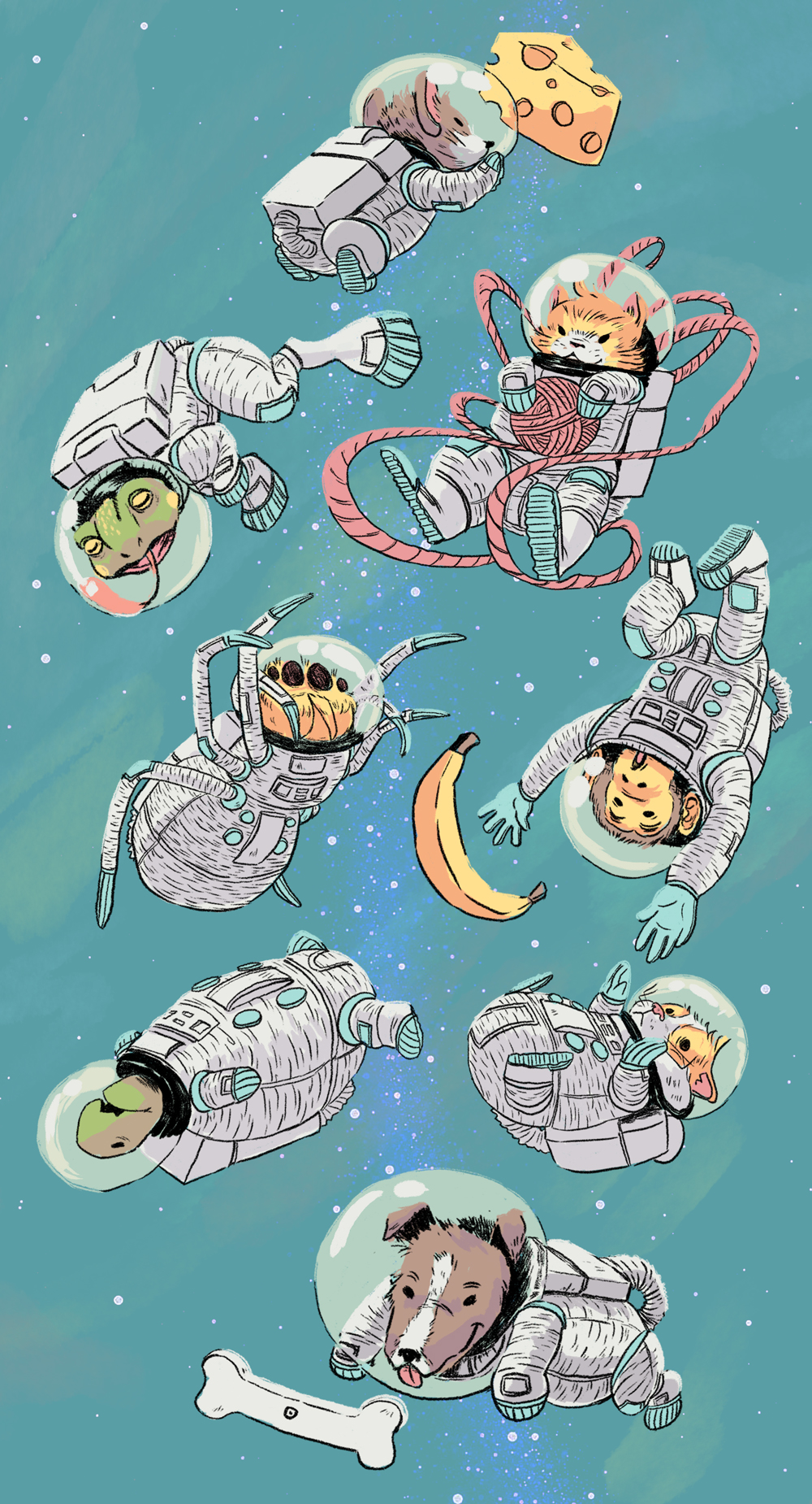 Space Critters Revisit