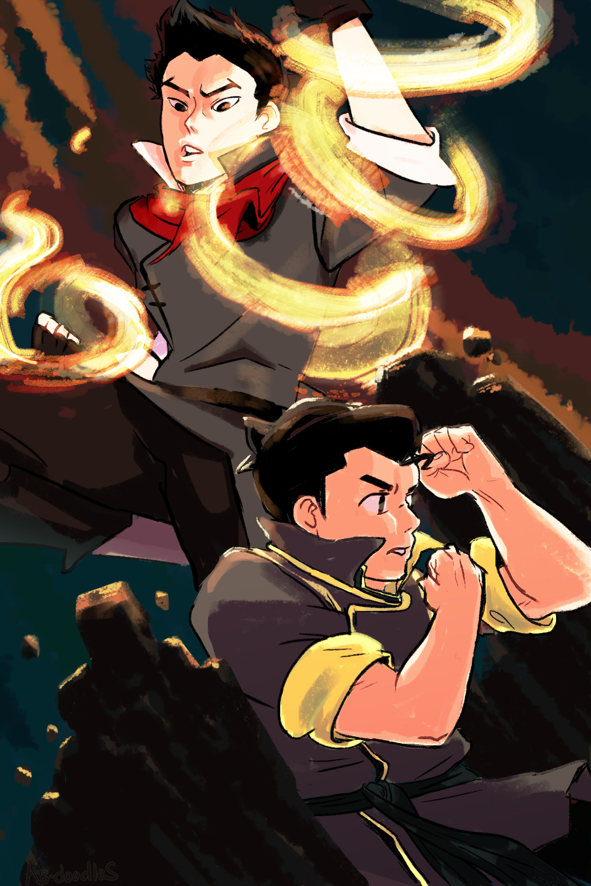 Legend of Korra - Brothers in Arms
