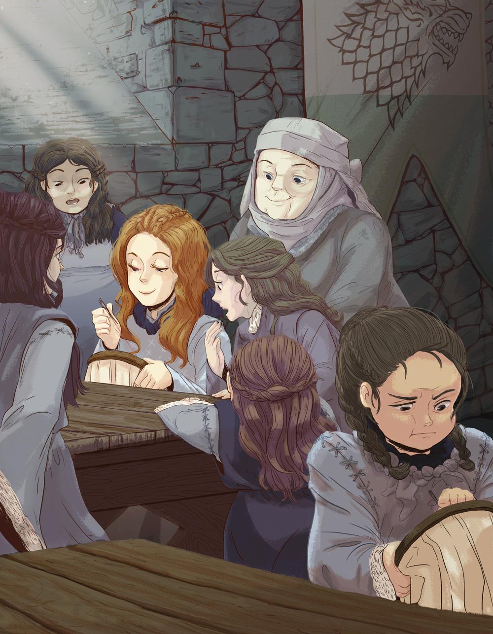 Game of Thrones - Stark Sisters