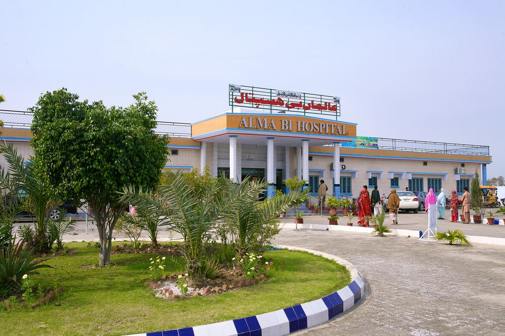 Hospital Frontage