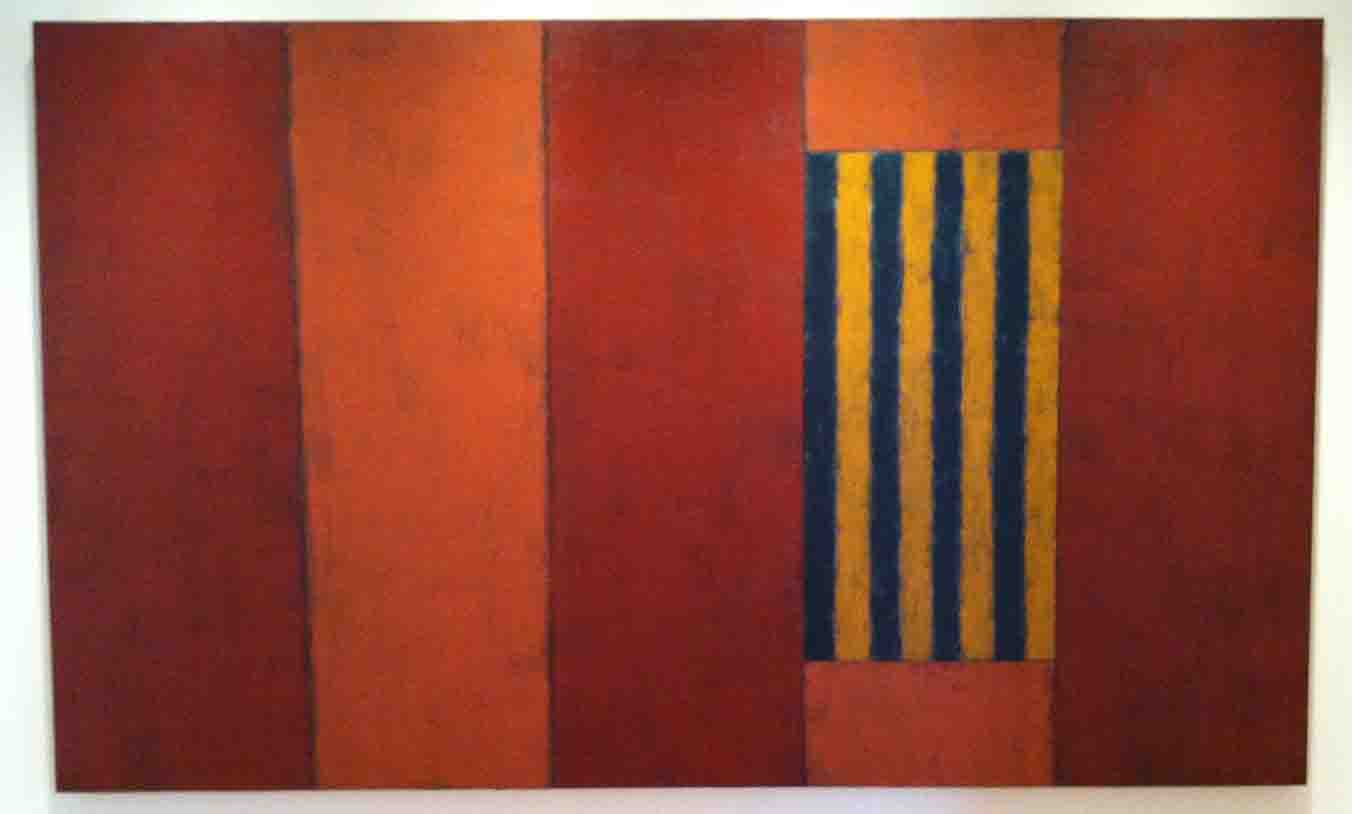 Sean Scully painting at Henry.jpg
