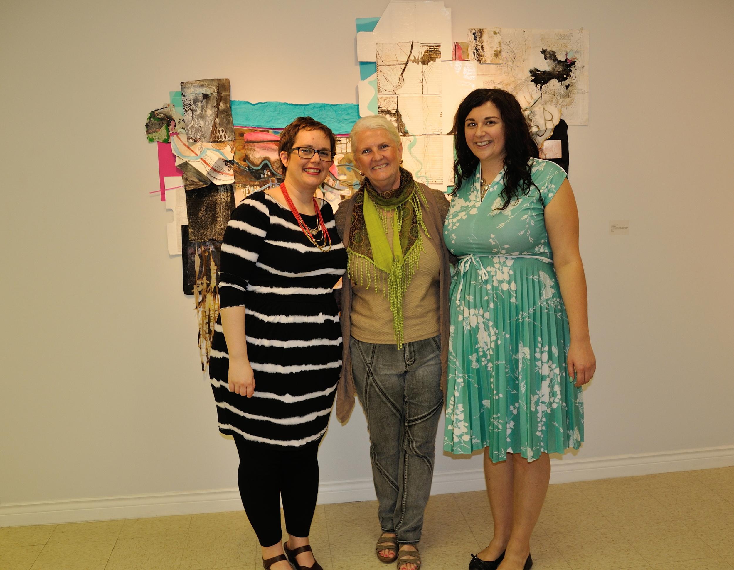 Katie Brennan, curator - Jill Ehlert - Stephanie Jonsson