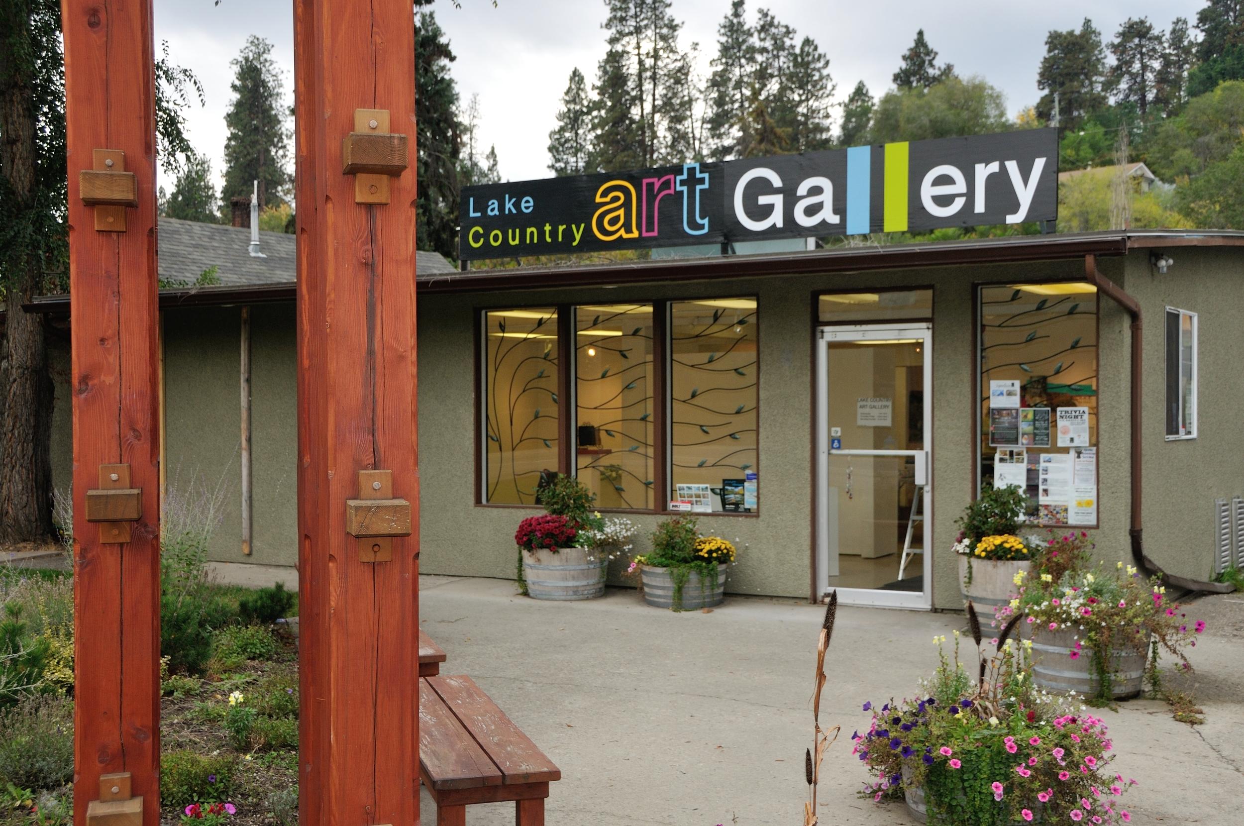 LAKE COUNTRY ART GALLERY  10356A Bottom Wood Lake Rd  Lake Country British Columbia, CA V4V 1T9