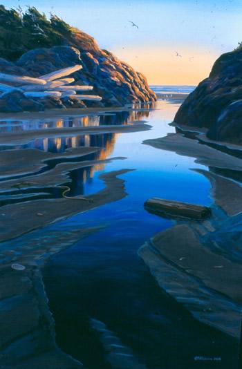 "Mark Hobson ""Green Point Rocks: Long Beach"""