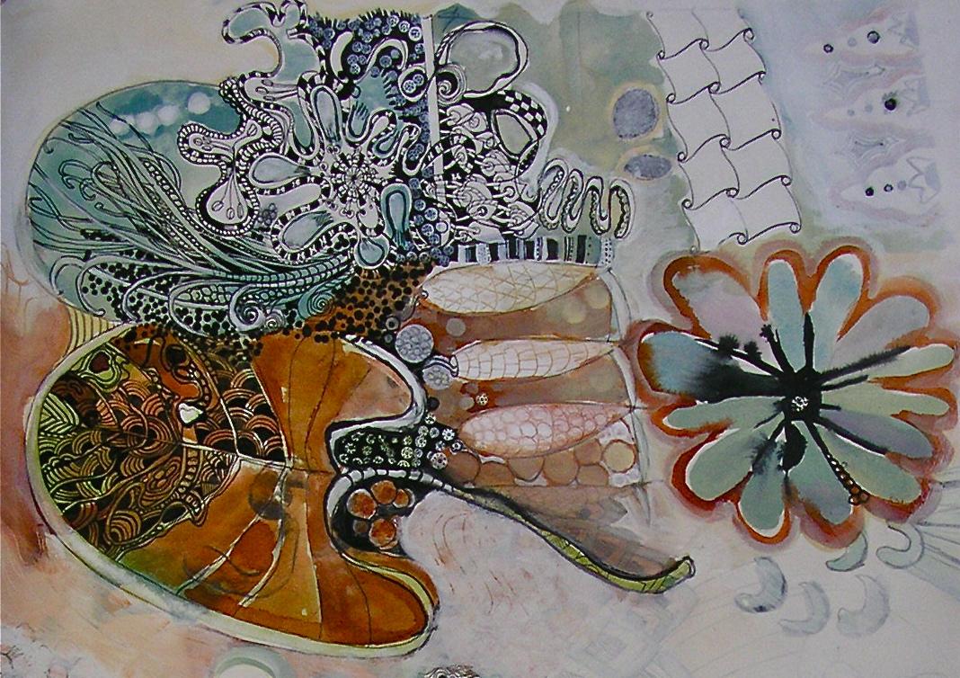 More progress - detail - Jill Ehlert