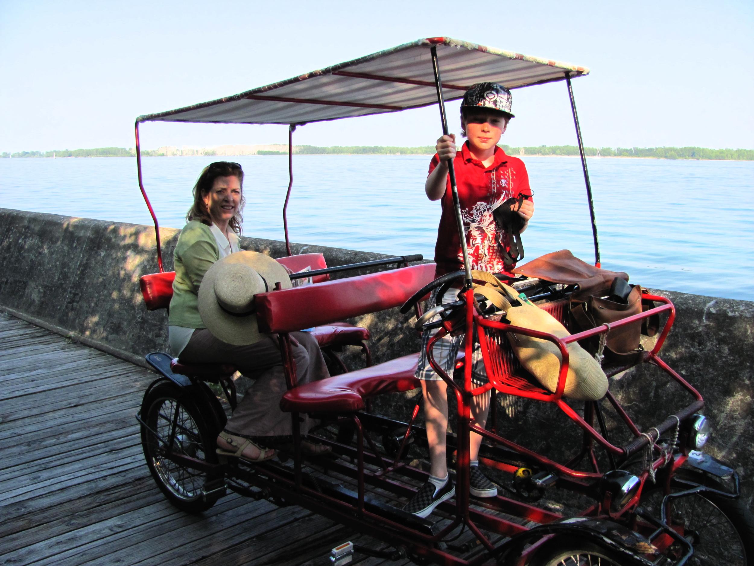Dreaming Of India - Kathy and Miro , Portrait  Toronto, Ontario 2011