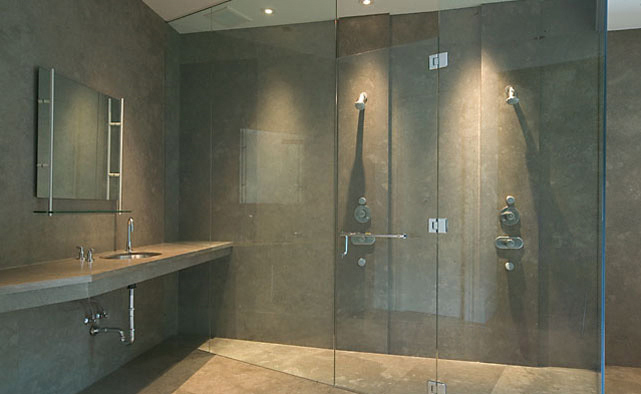 View of Master Bathroom