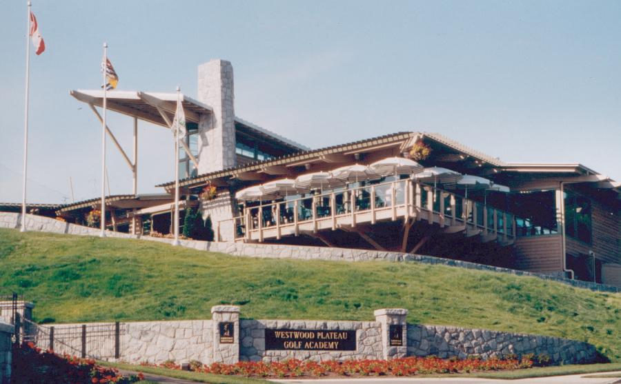 Restaurant Terrace + Entry Overlooking Fraser Valley